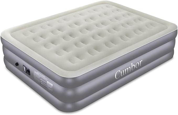 Amazon.com: Cumbor - Colchón de aire para cama queen/twin ...