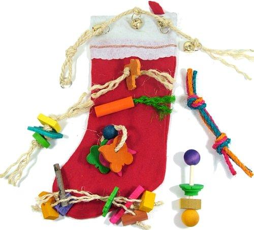 Rabbit Christmas Stocking by Happy Rabbit Toys