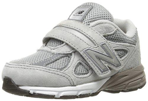 New Balance KV990V4 Infant Running Shoe (Infant/Toddler), Grey/Grey, 8.5 M US Toddler