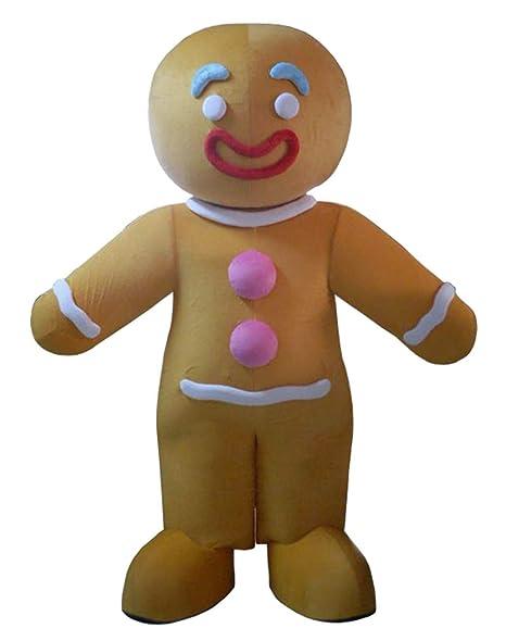 Amazon.com: Disfraz de hombre de jengibre para Navidad ...