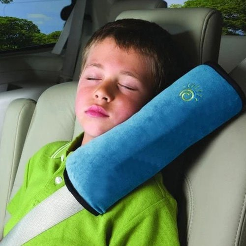 Baby Car Seat Belt Cover (Blue) - 4