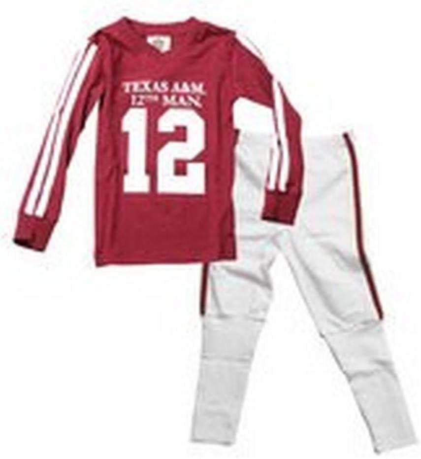 Wes and Willy Infant//Toddler Georgia Bulldogs UGA Pajamas SS Football PJs