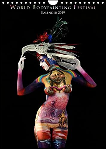 World Bodypainting Festival Wandkalender 2019 Din A4 Hoch Monthly Calendar Featuring Some Of The Most Spectacular Living Artworks From The World Bodypainting Festival Monatskalender 14 Seiten Amazon Co Uk Moisseev Dmitri Books