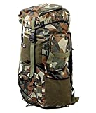 Kart People Travelling Army/Warrior Rucksack ,Water Proof Traking Military Backpack/Tourist Bag 75Ltr
