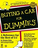 Buying a Car for Dummies, Deanna Sclar, 0764550918