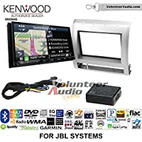Volunteer Audio Kenwood Excelon DNX994S Double Din Radio Install Kit with GPS Navigation Apple CarPlay Android Auto Fits 2005-2011 Toyota Tacoma with Amplified System (Silver)