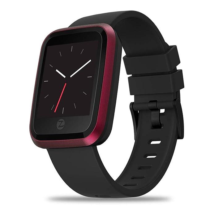 Amazon.com: Reloj inteligente de cristal, resistente al agua ...
