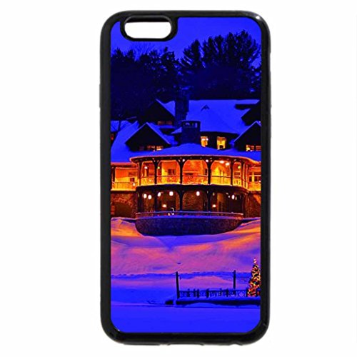 iPhone 6S / iPhone 6 Case (Black) Lake view...