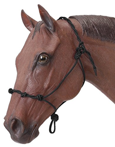 Tough 1 Tough-1 Knotted Rope & Twisted Crown Training Halter, (Knotted Training Halter)