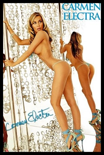 Carmen electra desktop stripper
