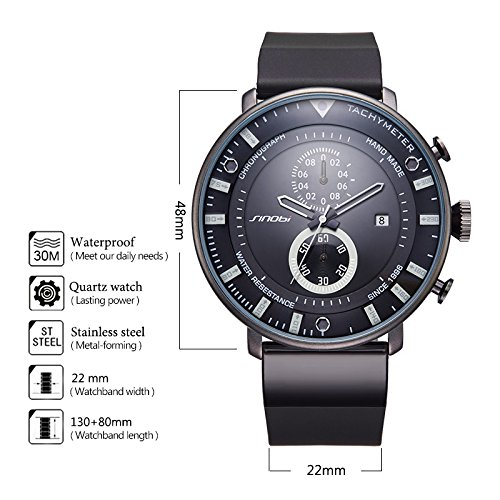Amazon.com: Relojes de Hombre de Moda 2018 Male Mens Watches Fashion Casual RE00888: Watches