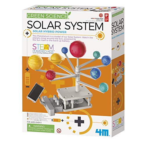 - 4M Green Science Rotating Solar System Kids Science Kit