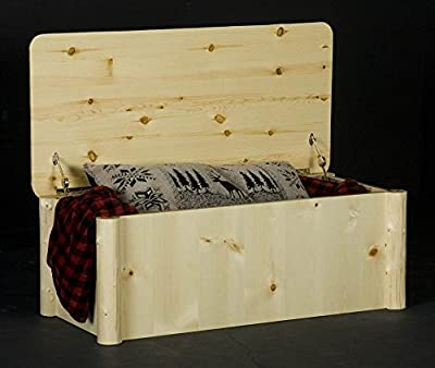 Northwoods Log Cedar Chest (Clear)