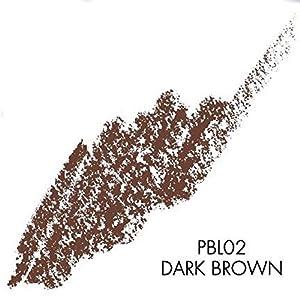 Palladio Brow Pencil & Brush for Eyebrows, Dark Brown