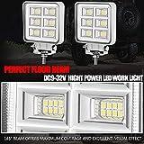 LED Boat Lights, Adzoon 2 Pcs 4 Inch Waterproof
