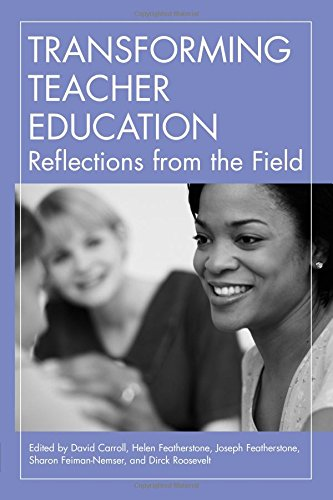 Transforming Teacher Education: Reflections from the - Stores Field Roosevelt
