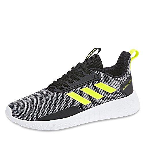 adidas Questar Drive, Zapatillas Unisex Niños Negro (Negbas / Amasol / Gritre 000)