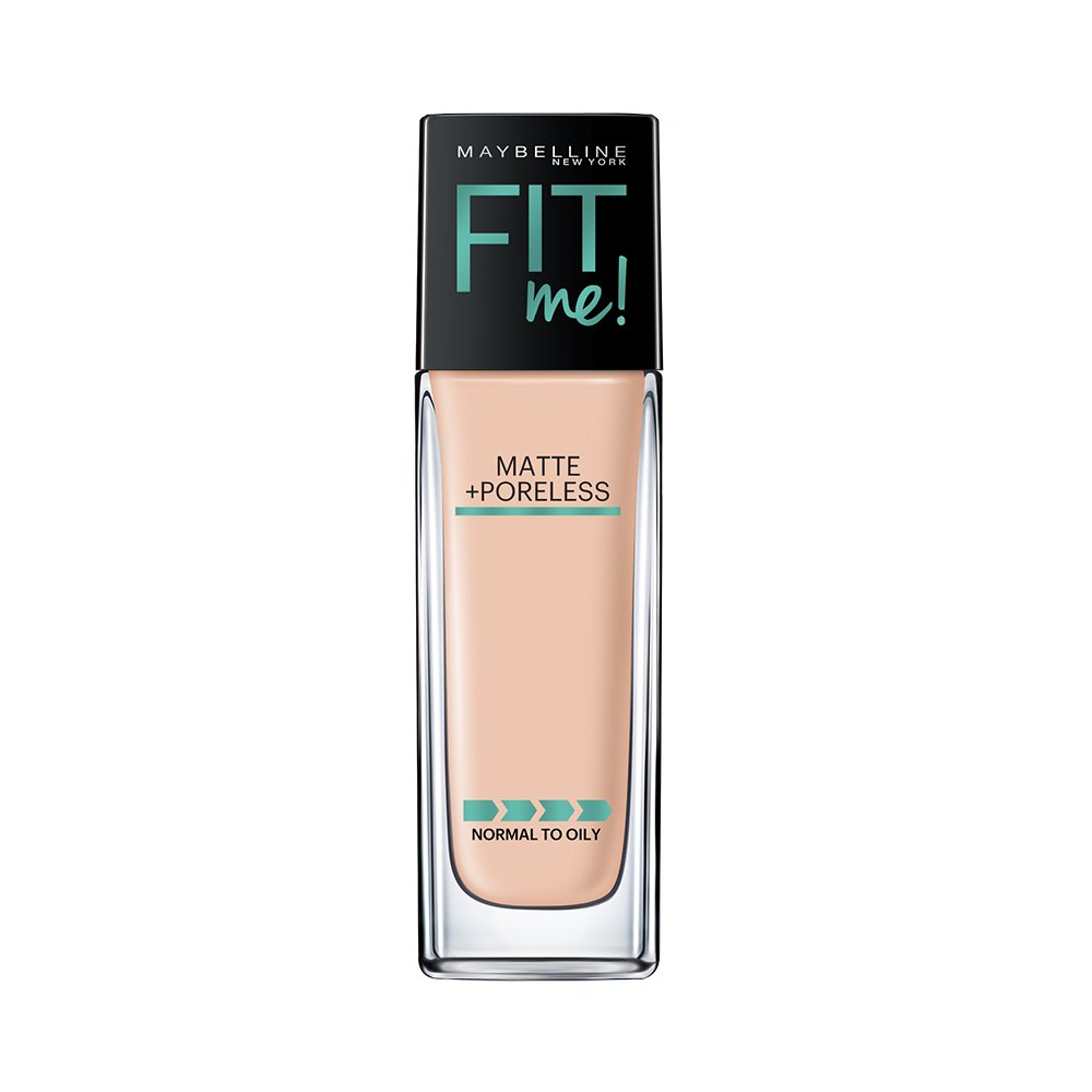 Maybelline New York Fit Me Matte with Poreless Foundation,