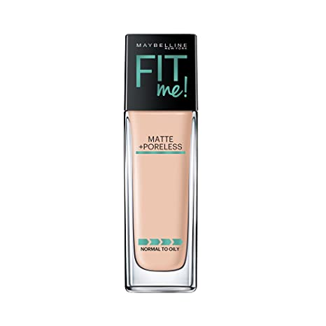 c8c8bdc0f48 Buy Maybelline New York Fit Me Matte+Poreless Liquid Foundation, 115 Ivory,  30ml Online at Low Prices in India - Amazon.in