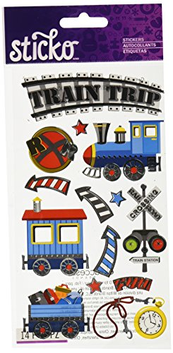 Sticko Trains Stickers