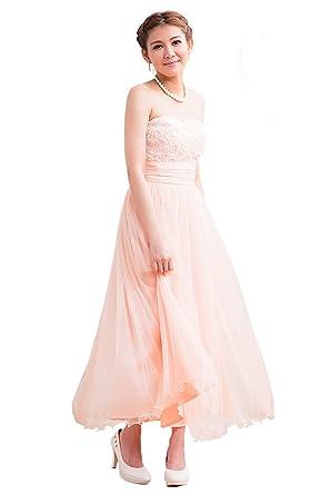 4569b4e28c919 結婚式ドレス ワンピース ロングドレス ウエディングドレス パーティードレス フォーマルドレス ブライズメイド ドレス オフ