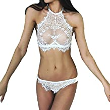 BeautyVan Lace Flowers Underwear Set,New Fashion Fashion Women Sexy Lingerie Lace Flowers Push Up Top Bra Pants Underwear Set