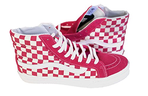 Vans SK8-Hi Slim US Open Beetroot Purple Checker (6.5)
