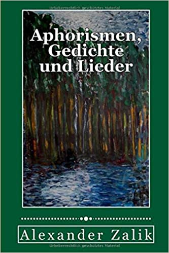 Amazoncom Aphorismen Gedichte Und Lieder Poesie German