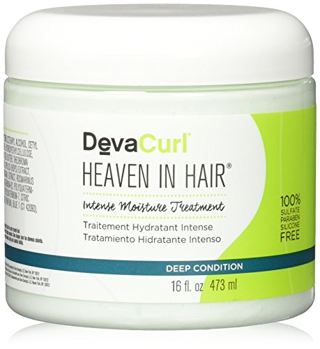 Deva Heaven In Hair Intense Moisture Treatment, 16 Ounce by DevaCurl