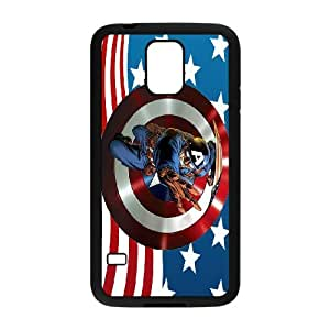 Lovely Captain America Phone Case For Samsung Galaxy S5 M57002