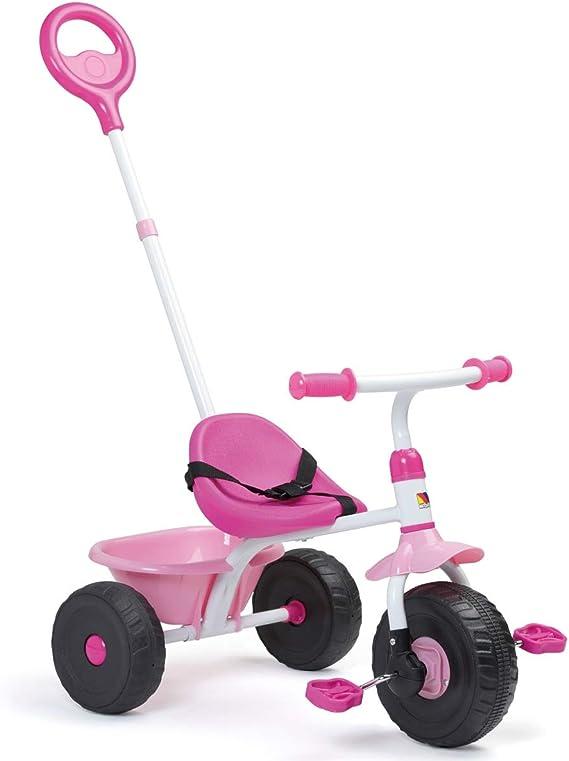 Triciclo Infantil Molto Urban Trike 3 en 1 Rosa: Amazon.es ...