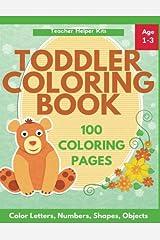 Toddler Coloring Book Paperback