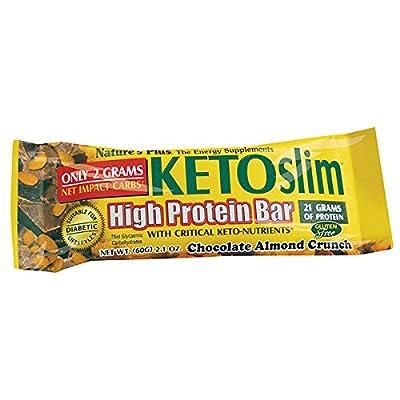KETOSLIM CHOCOLATE NUT CRUNCH BARs 12