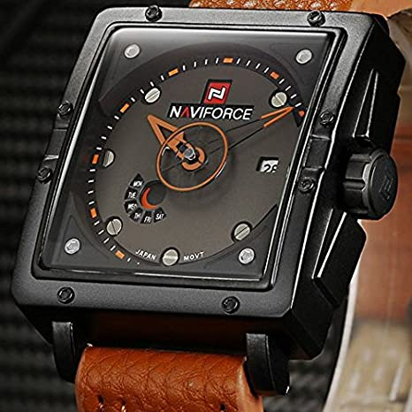 Amazon.com: Relojes de Hombre Men Quartz Para Caballeros De Moda RE0038: Watches