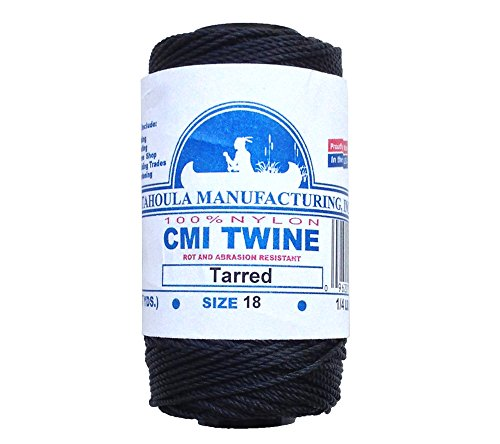 Catahoula Manufacturing No. 18 Tarred Twisted Nylon Bank Line ()