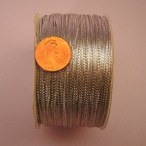 Silver Metallic Cord, 1mm X 144Yd (Tinsel Twine)