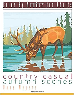 Amazon Com Color By Number For Adults Country Casual