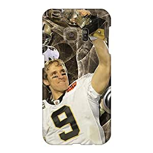 Samsung Galaxy S6 ElR2098Irkx Allow Personal Design Lifelike New Orleans Saints Skin Perfect Cell-phone Hard Cover -hardcase88