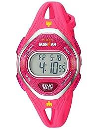Timex Ironman - Reloj con correa de silicona (50 unidades), Rosado, Una talla
