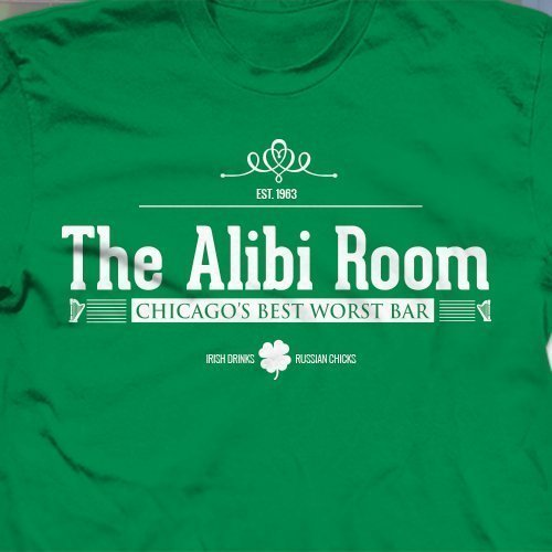 230de5b3f Amazon.com: St. Patricks Day T-Shirt The Alibi Room Bar from Shameless,  pub, alcohol tee, beer, frank gallagher: Handmade