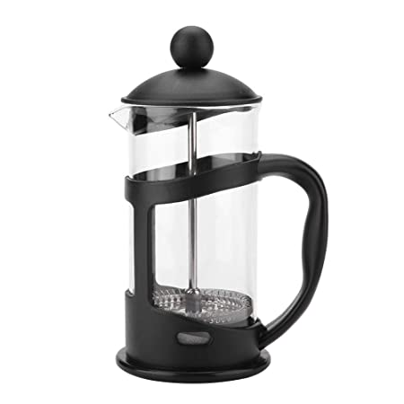 French Press Cafetera Prensa francesa de Vidrio con filtro émbolo de acero inoxidable(1000ML)