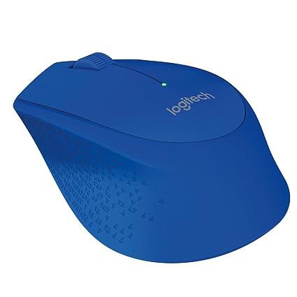 Logitech M280 - Ratón inalámbrico para la mano derecha, azul: Logitech: Amazon.es: Informática