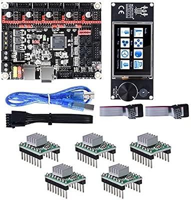 PEJGD BIGTREETECH Controlador de 32 bits SKR Junta V1.3 + TFT24 la ...
