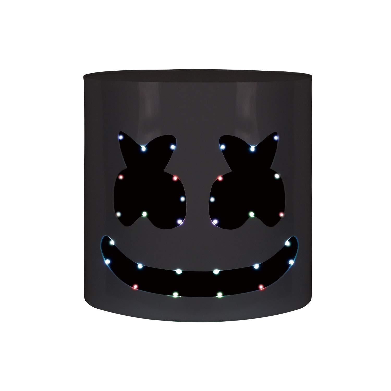 Handcraft Top 10 DJs Marshmello Helmet Music Festival Marshmallow Head Mask Novelty Costume Party Props Hard Acrylic