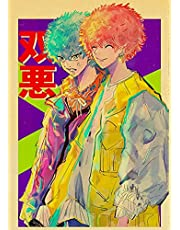 Vintage Japan Anime Serie Tokyo Revengers Retro Kraftpapier Poster Voor Wall Art Home Decor Woonkamer Foto A64 50X70 Cm