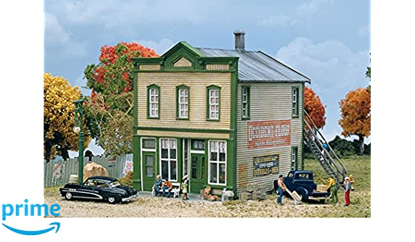 Kit Walthers Ho #933-3650 River Road Mercantile building Kit