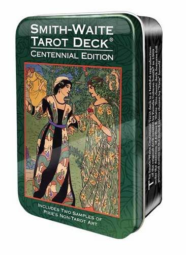 Smith-Waite Centennial Tarot Deck in a Tin [Arthur Edward Waite - Pamela Colman Smith] (Tapa Blanda)