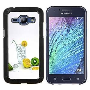 For Samsung Galaxy J1 J100 Case , Naturaleza Hermosa Forrest Verde 37- Diseño Patrón Teléfono Caso Cubierta Case Bumper Duro Protección Case Cover Funda