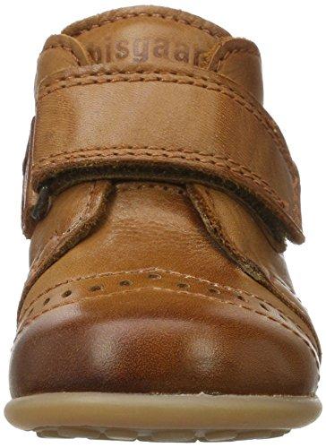 Bisgaard Krabbelschuhe, Zapatillas de estar Por Casa Unisex Niños marrón (66 cognac)