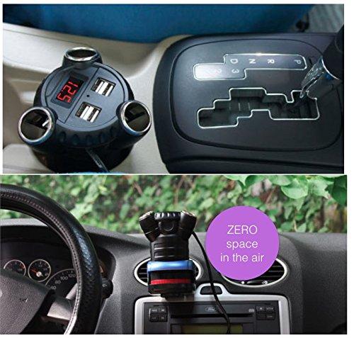 Kingneed Hidden Gps Tracker With Multi 180w Car Power